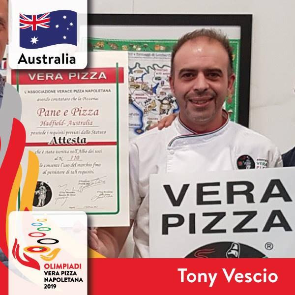 Iscritti OLIMPIADI Vera Pizza Napoletana